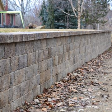 retaining wall boise idaho